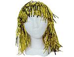 Gold Foil Wig