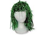 Green Foil Wig