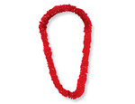 Red Plastic Leis