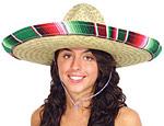 Adult Serape Sombrero
