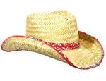 Bandana Trim Cowboy Hat