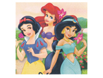 Disney Princess Beverage Napkin