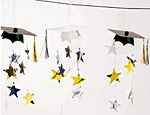 Graduation Cap 12 Foot  Garland