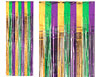 Mardi Gras Metallic Curtain