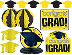 Yellow Graduaiton Decorating Kit
