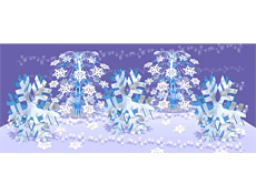 snowflake table decorations.htm 4funparties com snowflake table decorations  snowflake table decorations