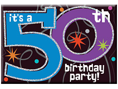 50th Party Invitations