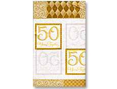50 Years Table Cover