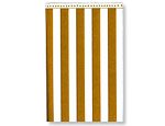 Golden Stripe Tablecover 54 inchX102 inch