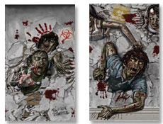 4funparties Com Zombie Plastic Scene Setter