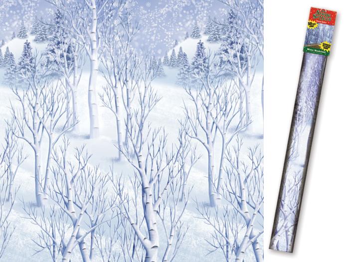 4funparties     winter wonderland scene setter