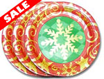 Starlite 8 inch Christmas Plates