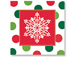 Holiday Dots Beverage Napkins