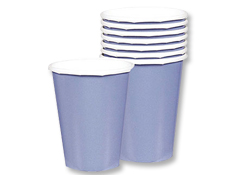 Baby Blue 9oz. Paper Cup