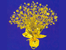 Gold Star Centerpiece 15 inch