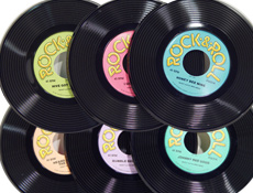 9 inch Plastic Records