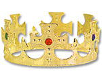 Adjustable Kings Crown