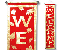 Autumn Welcome Banner