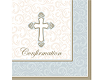 Confirmation Beverage Napkins