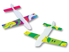 "6.25"" Assorted Smile Face Gliders"
