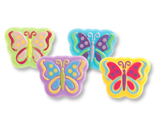 Butterfly Plastic Rings