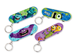Monsters University Skateboard Keychains