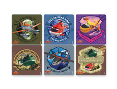 Disney Planes 2 Stickers