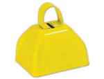 3 inch Yellow Cowbell