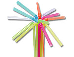 Flexible Neon Straws