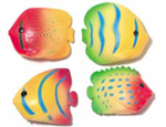 2.5 inch Neon Squirt Fish Assorted