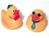 3 inch Yellow Squirt Ducks Assorted