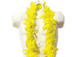 6 Foot  Deluxe Yellow Boa