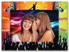 "Dance Party 4"" x 6"" Cardboard Photo Frame"