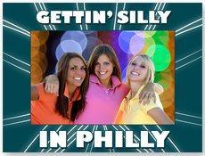 "S23215 - Silly In Philly 4"" X 6"" Cardboard Frame"
