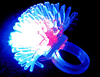 2 inch Flashing Porcupine Ring Assorted