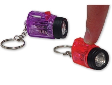 2 inch Flash Light Key Chain