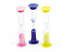 "3.5"" Three Minute Timers- Assorted"