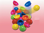 32mm Neon Poppers Assorted