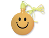 3 inch Smile Bubbles Yellow Necklace