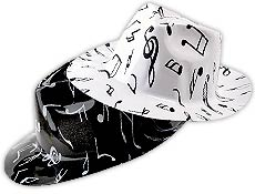 Music Note Fedoras
