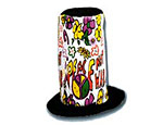 Peace Stove Top Hat