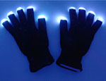 Black Light Up Glove