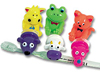 "3"" Animal Suction Toothbrush Holders-Assorted"