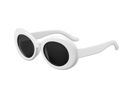 S53105 - White Clout Glasses
