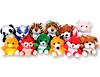 Asst Plush Animals Assorted