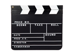 12  inch Hollywood Clapboard