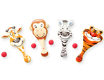 9 inch Animal Paddle Game Assorted