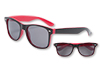 S59105 - Malibu Sunglasses - Red And Black