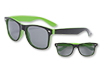 Malibu Sunglasses - Green and Black