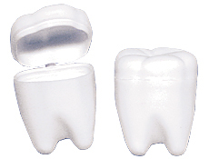 "2"" White Tooth Savers"